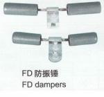 Pole Line Hardware Aluminum Alloy Vibration Damper High Tensile Strength