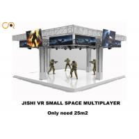 4 Players 360 Degree Virtual Reality Simulator With Vr Shooging Games  / 43 Inch Screen Manufactures