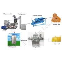 Lewin screw soybean oil processing line cold pressed oil machine for sale Manufactures