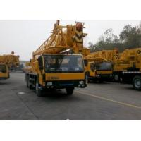 Yellow Color XCMG Truck Crane QY25K-Ⅱ 50 Ton Truck Mounted Mobile Crane Manufactures