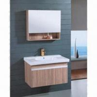 Bathroom Cabinet, MDF/PVC Cabinet, Ceramic Sink, Bathroom Vanity Cabinet Manufactures