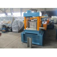 Auto PLC Control Z Purlin Roll Forming Machine with Engineer Oversea Service Manufactures