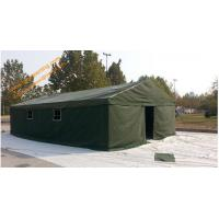 China 5x8m Outdoor  Waterproof Canvas Camping Military Frame Army Tent on sale
