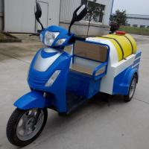 Electric three-wheel sanitizing car Manufactures