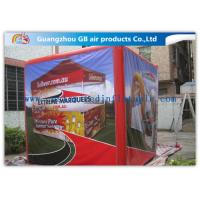 Fire - Proof Red Inflatable Cube Tent Custom Printed Tent for Advertising Manufactures