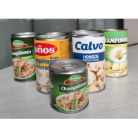 Whole Shape 425g Canned Champignon Mushroom With Rich Nutrition Manufactures