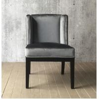 China Wood dining chairs,Antique style  fabric dining chair,french style fabric dining chair CH-016 on sale