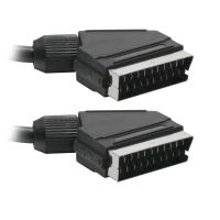 China 21 pin to 21 pin Plug scart to scart cable on sale