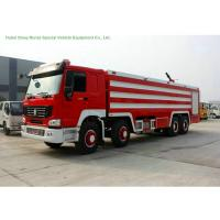 Multi Purpose HOWO 8x4 Fire Pumper Truck With Water Tank 24 Ton For Fire Fighting Manufactures