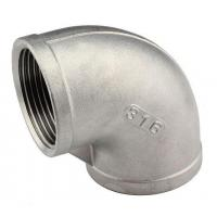 China Stainless Steel Threaded FITTING-90 Elbow on sale