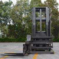 1.5 Ton 3 Ways Electric Pallet Stacker Locked Rear Axle For Narrow Aisle Manufactures