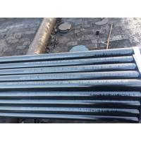 Seamless / Welded Ferritic Alloy Steel Pipe ASTM A335 P5 P9 P11 BE / PE End Manufactures