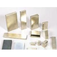 gold Coating N35 sintered permanent cars,communication,electron Neodymium Block Magnets Manufactures
