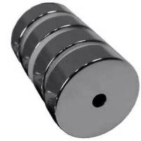 China Super Strong Ring N38 Permanent Neodymium Magnet Axially Magnetized NdFeB with NiCuNi Coated on sale