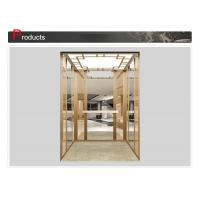 Fireproof Building Construction Materials Door Elevator Cab Stainless Steel Frame SN-CAB-1247