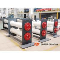 ISO Approved Shell & Tube Stainless Steel Heat Exchanger 30 hp Refrigeration Evaporator Manufactures