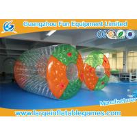Water Bottle inflatable roller ball Colorful Or Transparent Dots Manufactures