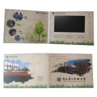 10.1 video card/touch screen video brochure for wholsale /touch screen for advertising