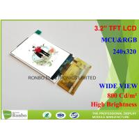 Outdoor Sun Readable Lcd Display 3.2 240 x 320 High BrightnessLcd Display Manufactures