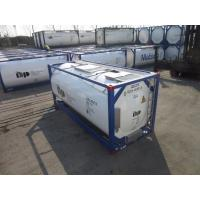 20ft 26000L T11 4bar Working Pressure 6bar Testing Pressure 36000kg ISO Tank Container Manufactures