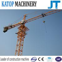 High work effiency low price QTZ80-5613 8t load tower crane for construction building Manufactures