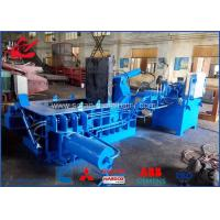 Waste Beverage Cans Hydraulic Scrap Metal Baler With Hand Valve Control Manufactures