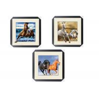 Office / Hotel Decoration Animal Picture 5d Lenticular Picture With Frame Manufactures