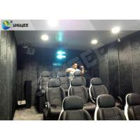 Portable Mobile 5D Theater / Cinema Fun Rides With Cabin Or Trailer For Amusement Park Manufactures