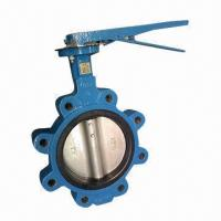 LT Lug Type Butterfly Valve for Construction, DI Body, Through Shaft, with Pin Manufactures
