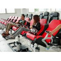 5D Luxury Movie Theater Seat Electric Hydraulic And Pneumatic Mobile Seats Manufactures