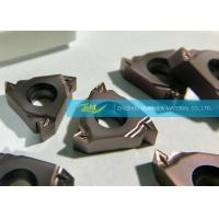 CNC Internal Threading Inserts SSPT Thread For Steam And Water Pipe Manufactures