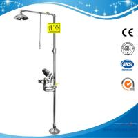 SH712BSC-dust cover emergency shower and eye wash,sfety shower and eyewash fountain for sale
