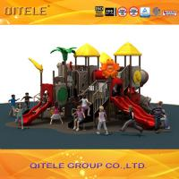 Qitele Children commercial play games playground for amusement park Manufactures