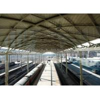 Prefabricated Railway Station Steel Frame Structure With Space Frame Roof Manufactures