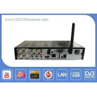 WIFI Support Digital Satellite Receiver Support 8QPSK Twin Tuner Manufactures