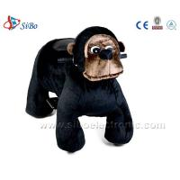 Coin Toys Stuffed Animals Walking Scooter Animals Plush Wheel Electric Animal Scooters Manufactures