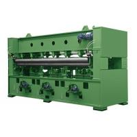 Needle Punched Industrial Needle Felting Machine 30-40mm Working Stroke Distance Manufactures