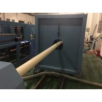 PLC Control PVC Pipe Production Line 75 - 250mm Pipe Dia With Wide Speed Regulation Manufactures