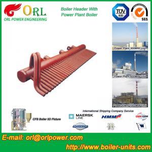 100 Ton Boiler Header Manifolds Carbon Steel Boiler Unit for Natural Gas Industry Manufactures