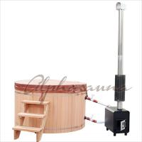 1800*900MM Japanese soaking Hot Tub Bath Barrels , durable cedar sauna kit Manufactures