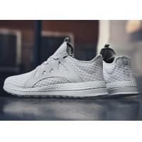 Quick Dry Casual Running Shoes ,  Lace - Up Style Mens Fashion Casual Shoes Manufactures