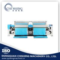 Multi Head Quilting And Embroidery Machine , 34 Heads Flat Embroidery Machine Manufactures