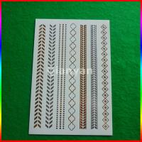 flash temporary glitter tattoo Manufactures