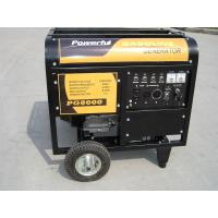 China 3 Phase Open Type Copper Wire 15HP Home Gasoline Generator With Handles And Wheels on sale
