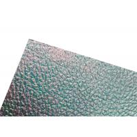 Durable Embossed Polycarbonate Sheet Skylight Roofing Board For Bathroom Manufactures