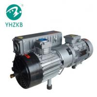XD-100 3KW 50Pa cast iron color grey oil sealed rotary vane vacuum pump Manufactures