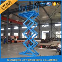 China 1 Ton Stationary Hydraulic Scissor Lift for Home Use 1.6m x 1.2m Platform size on sale