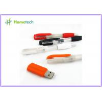 China 2 In 1 Multifunction Plastic Blue Usb Pen Memory Stick For Students , Teacher And Officer on sale