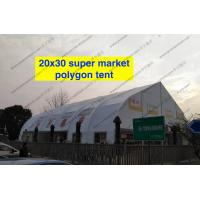 Heat Resistant TFS Tent Easy Assembled With Inflaming Retarding White PVC Fabric Manufactures