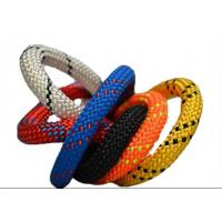 10.2MM X 60M Polyester nylon 32 48 braides safety climbing rope code line Manufactures